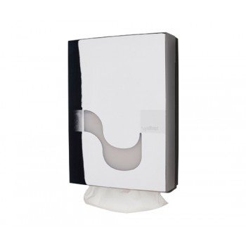 Dispensador Celtex Cromado para papel secamanos H3 plegado Z