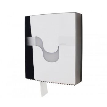 Dispensador Celtex para papel higíenico Maxi Jumbo en Cromado