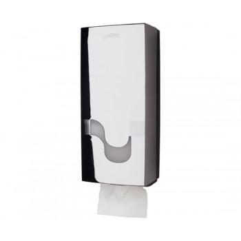 Dispensador Celtex Cromado para papel higiénico tipo Hoja a Hoja