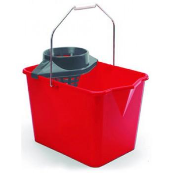 Cubo de fregar rectangular de 12 Litros