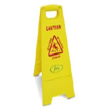 Señal de aviso suelo humedo