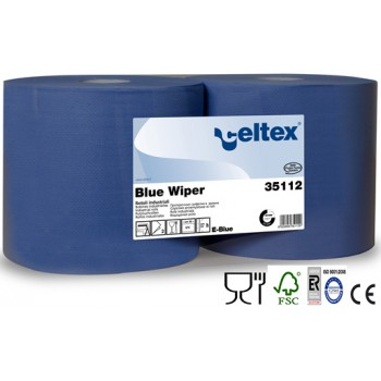 Bobina Industrial Celtex Blue Wiper