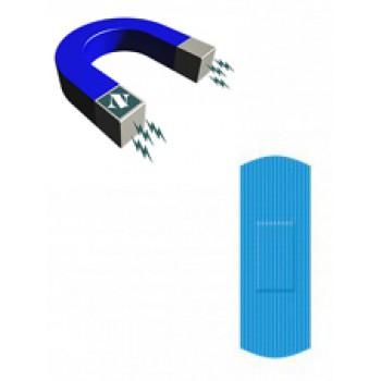 Apósitos Tiritas Premium con metal detectable Impermeable de 25x72mm 100 Unidades