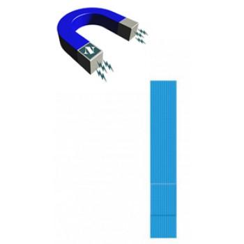 Apósitos Tiritas Premium con metal detectable Impermeable de 120x20mm 100 Unidades