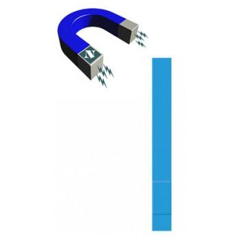Apósitos Tiritas Premium con metal detectable Impermeable de 180x20mm 100 Unidades