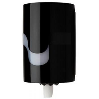 Dispensador Celtex negro extracción central para papel mecha