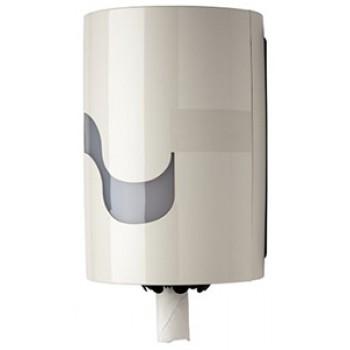 Dispensador Celtex blanco extracción central para papel mecha