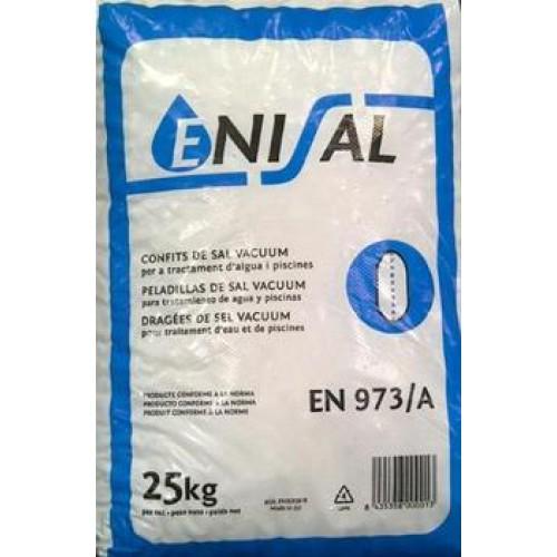 Sal mineral para lavavajillas y descalcificador saco de 25 kg - Sacos de sal para descalcificador ...