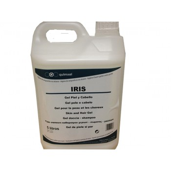 Gel Champu Iris 2 en 1 para cuerpo y cabello