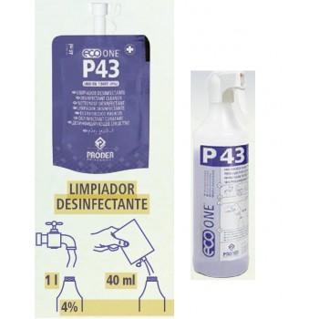 Limpiador desinfectante Proder Eco One P43