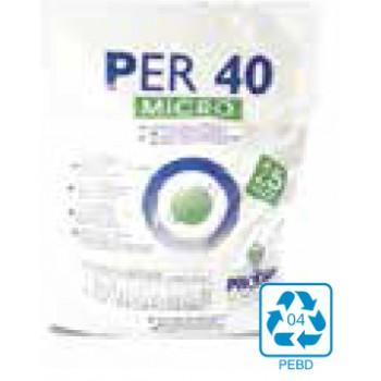 Detergente en polvo atomizado Proder Per40 Micro Saco de 25Kg